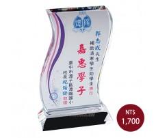 CL-02 彩印水晶獎盃