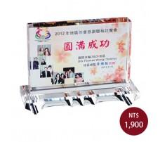 CL-07 彩印水晶獎盃