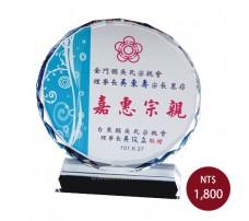 CL-08 彩印水晶獎盃