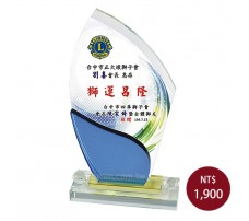 CL-13彩印水晶獎盃