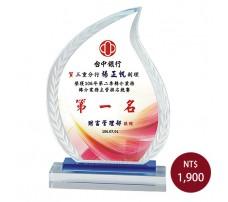 CL-15彩印水晶獎盃
