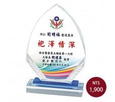 CL-16彩印水晶獎盃