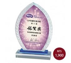 CL-17彩印水晶獎盃