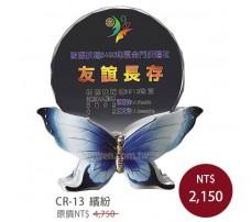 CR-13 彩印水晶獎盃