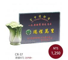 CR-37 彩印水晶獎盃
