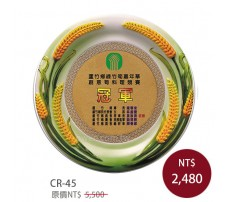 CR-45 立體瓷花獎座