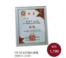 CR-56 彩印獎牌(強化玻璃)