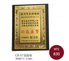 CR-57 加金箔