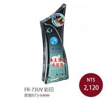 FR-73BUV彩印水晶獎牌(藍色系/綠色系)