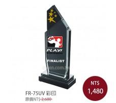 FR-75UV彩印水晶獎牌