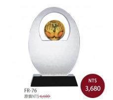 FR-76水晶琉璃獎牌