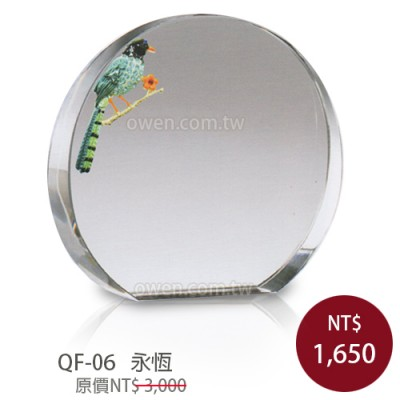 QF-06 晶鑽琺瑯獎座