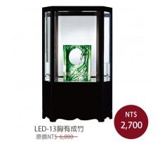 LED-13胸有成竹 櫥窗琉璃
