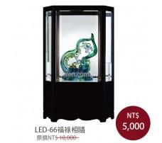LED-66福祿相隨 櫥窗琉璃
