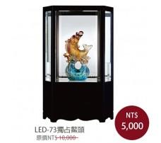 LED-73獨占鰲頭 櫥窗琉璃