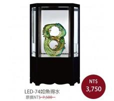 LED-74如魚得水 櫥窗琉璃