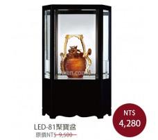 LED-81聚寶盆 櫥窗琉璃