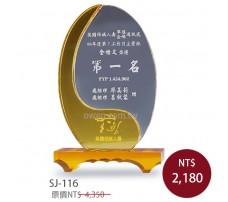 SJ-116 水晶獎牌