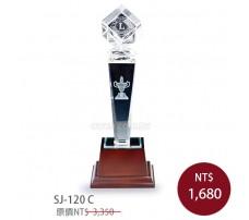 SJ-120 水晶實木獎牌(大.中.小)