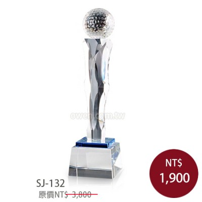 SJ-132 水晶獎盃(大.中.小)