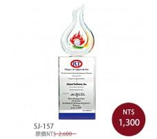 SJ-157水晶獎牌
