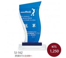 SJ-162水晶獎牌