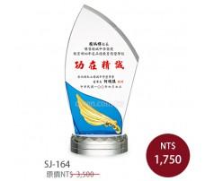 SJ-164 水晶獎牌