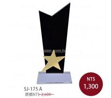 SJ-175A 水晶獎牌