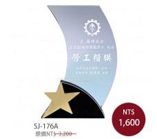 SJ-176A 水晶獎牌