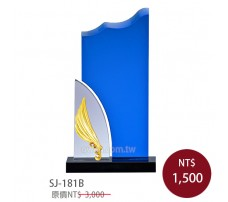 SJ-181B水晶獎牌