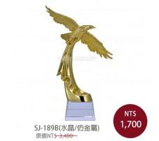SJ-189B 水晶獎牌