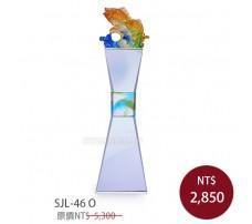 SJL-46O 琉璃水晶獎座(游刃有餘)