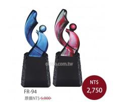 FR-94 黑晶琉璃 獨領風采(藍/紅)