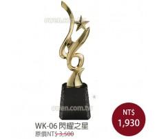 WK-06金屬獎盃 閃耀之星