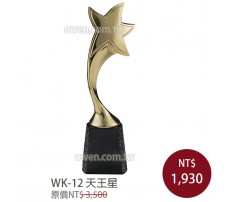 WK-12金屬獎座 天王星